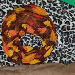 Accessories - Fall Infinity Scarf